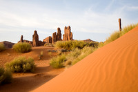Totem Poles, Monument Valley